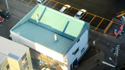 designKULTUR - Sapporo 2013 - Buildings - 17 - The Blue Sloping Roof