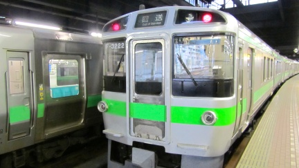 designKULTUR - Sapporo 2013 - JR Sapporo Station - Tains