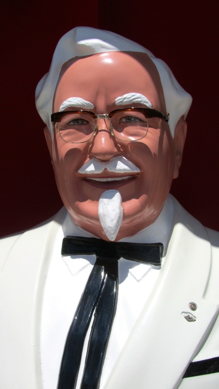designKULTUR - Sapporo 2013 - KFC - Meet the Colonel