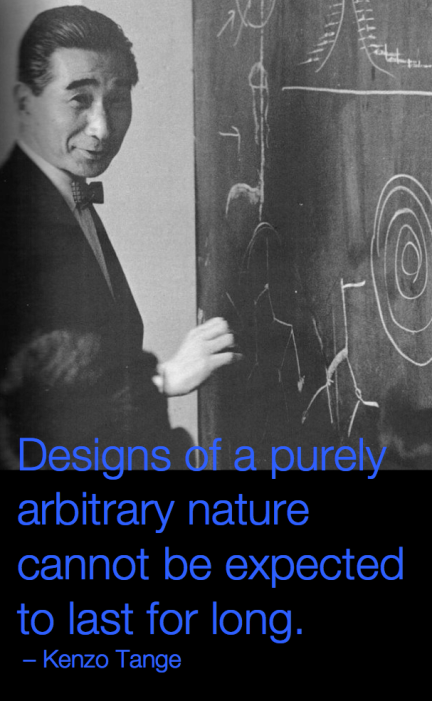 Designs of an arbitrary nature
