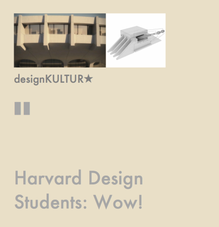 Harvard designKULTUR Star