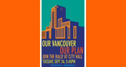 Our Vancouver Our Plan Poster