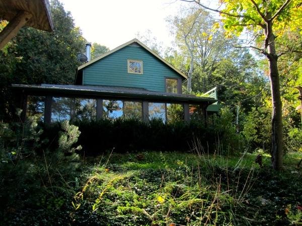 designKULTUR – The Plywood Cottage – Autumn – Exterior – 2