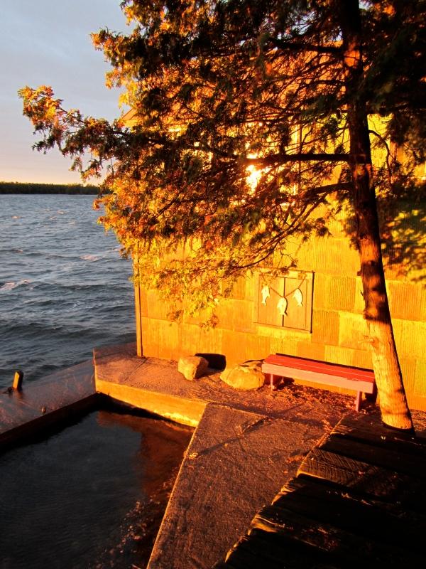 designKULTUR – The Plywood Cottage – Autumn – The Boathouse – Exterior - 1