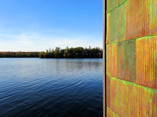 designKULTUR – The Plywood Cottage – Autumn – The Boathouse – Exterior - 6