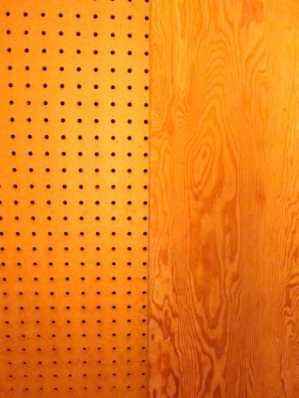 designKULTUR – The Plywood Cottage – Elements – Natural Peg Board + Douglas Fir Plywood