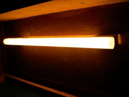 designKULTUR – The Plywood Cottage – Elements – Osram Linestra glow tubes - 2