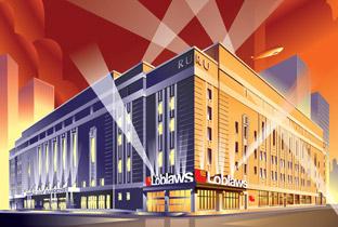 designKULTUR - Loblaws CItyMarket - North Vancouver - Loblaw Maple Leaf Gardens