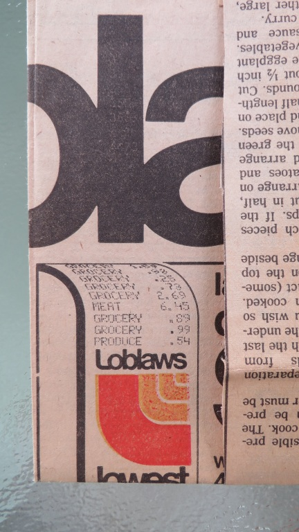 designKULTUR _ Loblaws ad from 1991 - 3