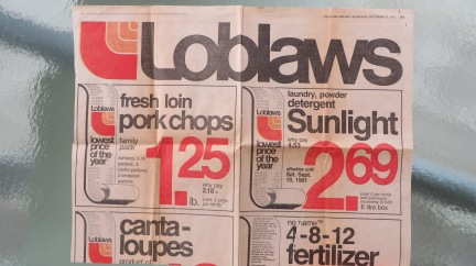 designKULTUR _ Loblaws ad from 1991 - 4