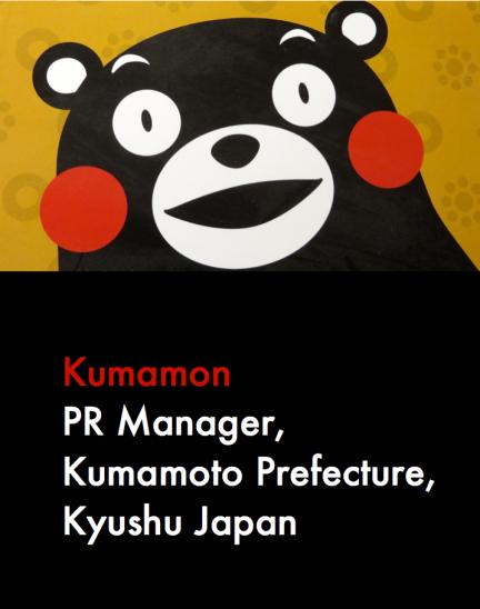 Kumamon PR Manager Kumamoto Prefecture Kyushu Japan