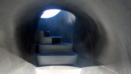 designKULTUR - Isamu Noguchi - Odori Park Sapporo - %22Black Slide Mantra%22 1988 – 3