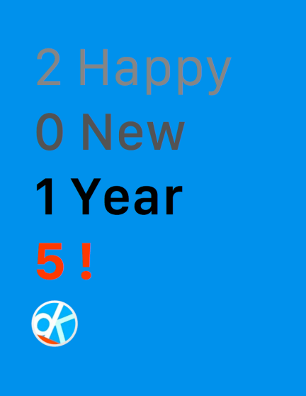 dK Happy New Year 2015